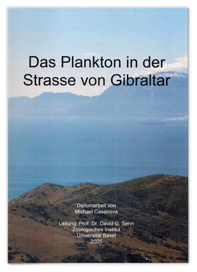 Das Plankton in der Straße von Gibraltar