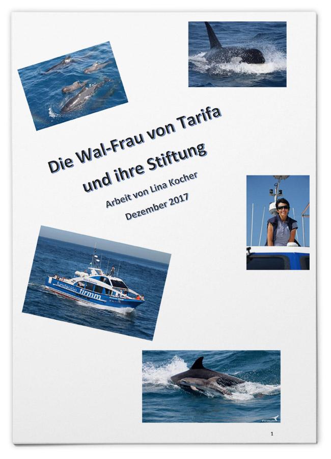 Die Wal-Frau von Tarifa und ihre Stiftung